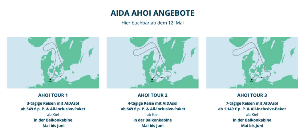 AIDAsol Ahoi Kiel
