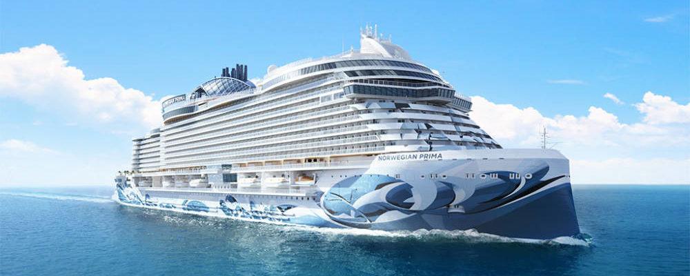 Norwegian Cruise Line: Norwegian Prima - Bildquelle. NCL