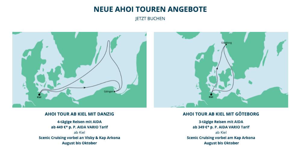 aida neue ahoi touren sommer 2