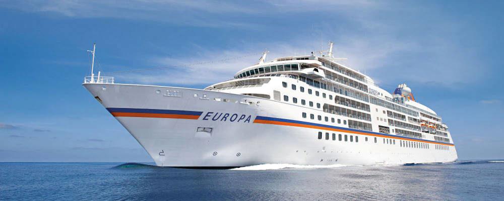 MS Europa - Bildquelle: Hapaq-Lloyd