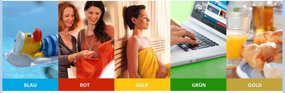 AIDA Clubstufen Farben - Bildquelle: AIDA Cruises