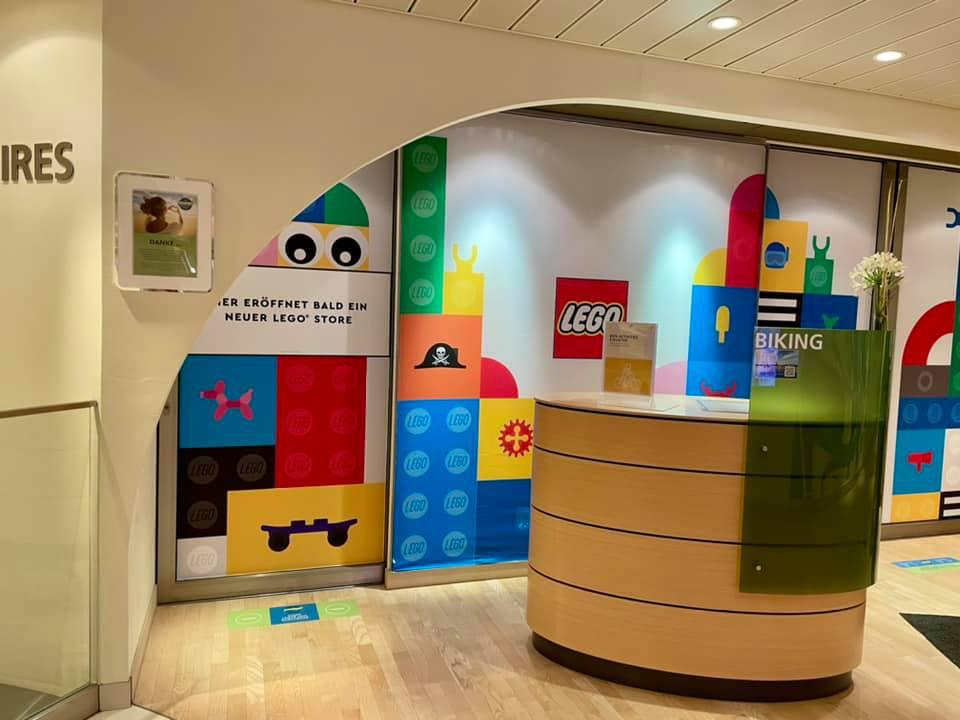 AIDAprima bekommt Lego Store