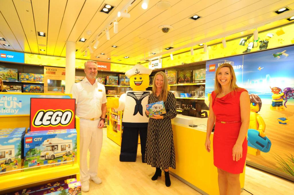 Lego Store auf AIDAprima - Bildquelle: AIDA Cruises